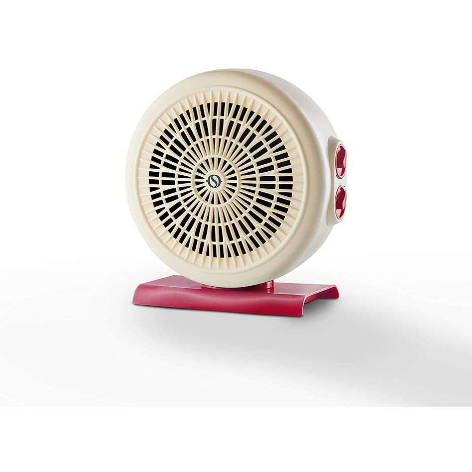 Olimpia Splendid CALDO CIRCLE 20 termoventilatore 3 velocità potenza max 2000 Watt colore bianco e rosso