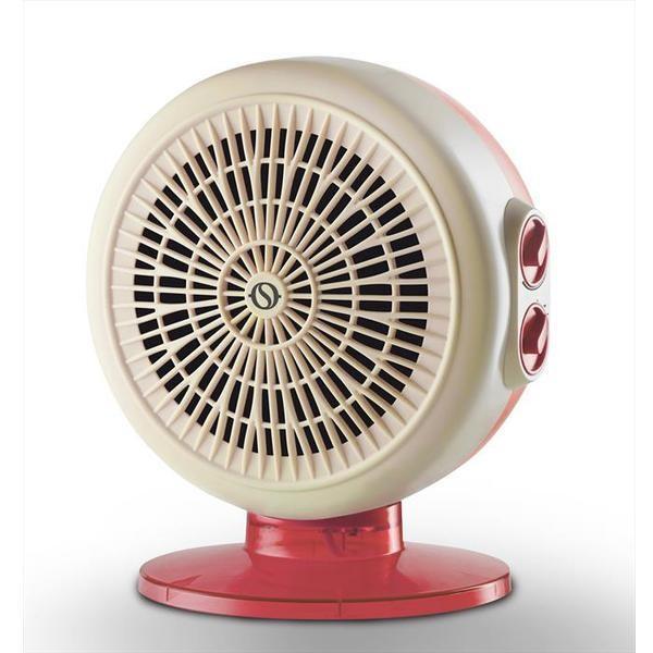 Olimpia Splendid CALDO CIRCLE 22 termoventilatore 3 velocità potenza max 2200 Watt colore bianco e rosso