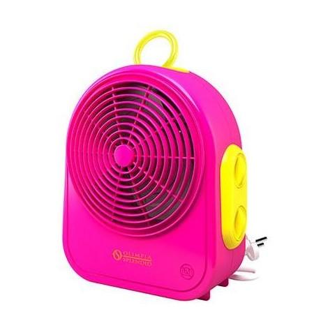 Olimpia Splendid Color Blast termoventilatore potenza 2000 Watt colore fucsia