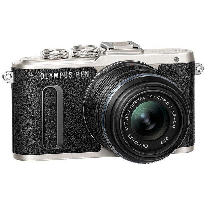 Olympus E-PL8 fotocamera mirrorless 16,1 Mpx + Obiettivo EZ-M 14-42 II R colore nero