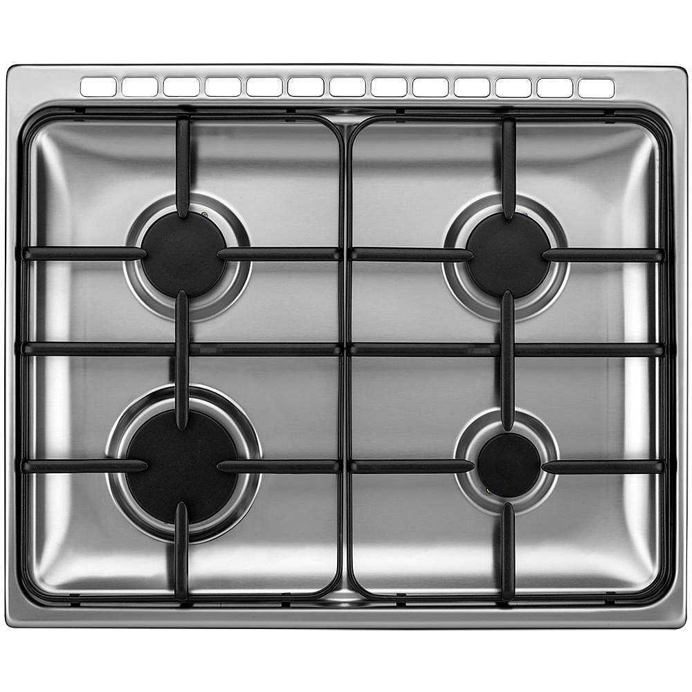 P654MX Tecnogas cucina 60x50 4 fuochi a gas forno elettrico 55 ...