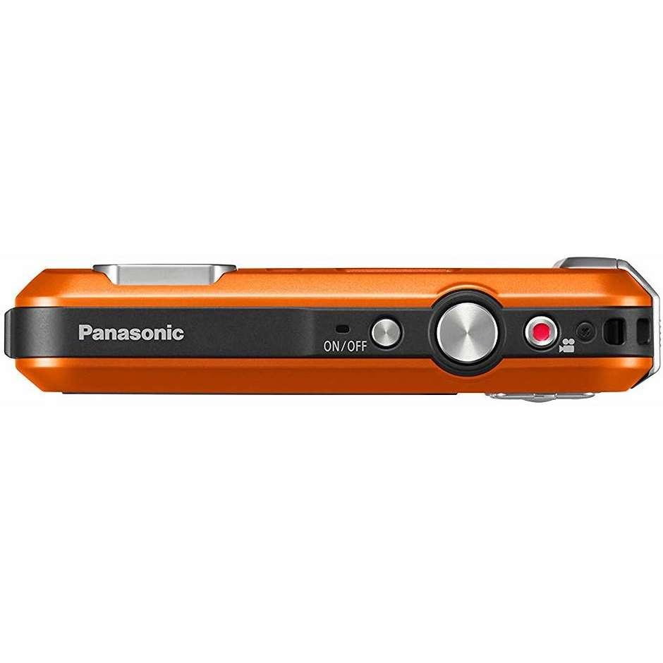 Panasonic DMC-FT30 Lumix Fotocamera compatta impermeabile 16 MP Zoom ottico 4x colore Arancione
