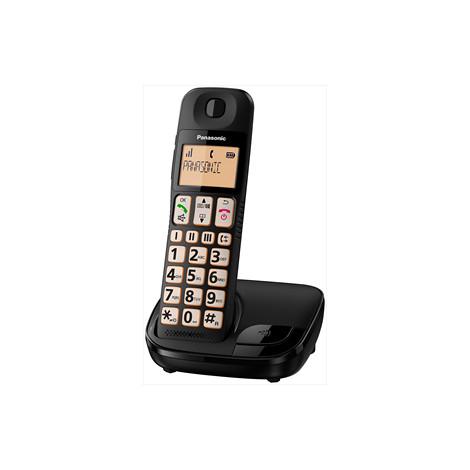 Panasonic KX-TGE110JTB colore Nero Cordless DECT