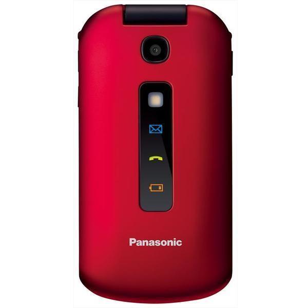 Panasonic KX-TU329 colore Rosso,Nero Telefono Cellulare