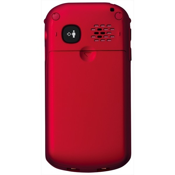 Panasonic KX-TU329 telefono cellulare colore rosso e nero