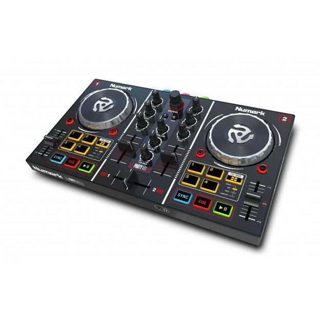 party mix dj numark controller midi console per dj