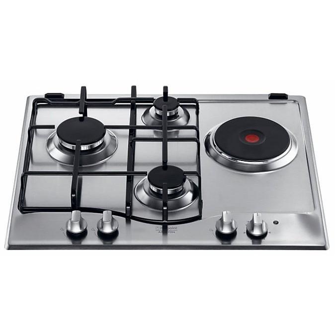pcn-641tix hotpoint/ariston piano cottura 60 cm 4 fuochi a gas ... - Cucina Ariston 4 Fuochi