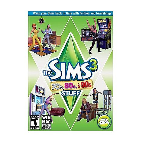 pc the sims 3 70s  80s  90s stuff