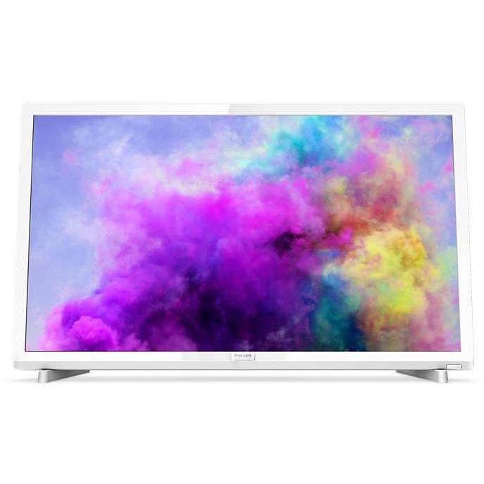 "Philips 24PFS5603/12 Tv LED 24"" Full HD 2HDMI USB Classe A+ colore Bianco"