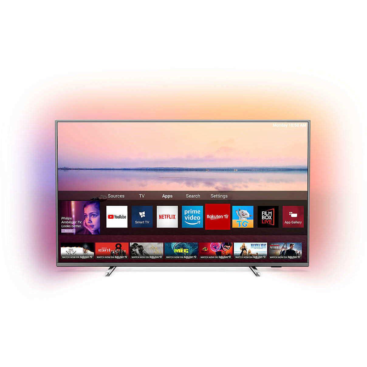 "Tv Led 4k Ultra Hd Smart Tv 43 Lg 43uk6470 What Is Hd Uhd 4k Hd Tv Ratings Hd Led 32 Inch Tv: Philips 50PUS6754/12 Tv LED 50"" 4K Ultra HD HDR 10+ Smart"