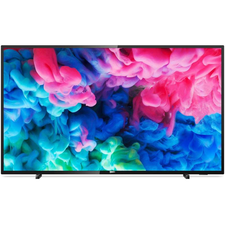 "Philips 55PUS6503/12 Tv LED 55"" ultra sottile 4K Ultra HD Smart Tv Wifi classe A+ colore nero"