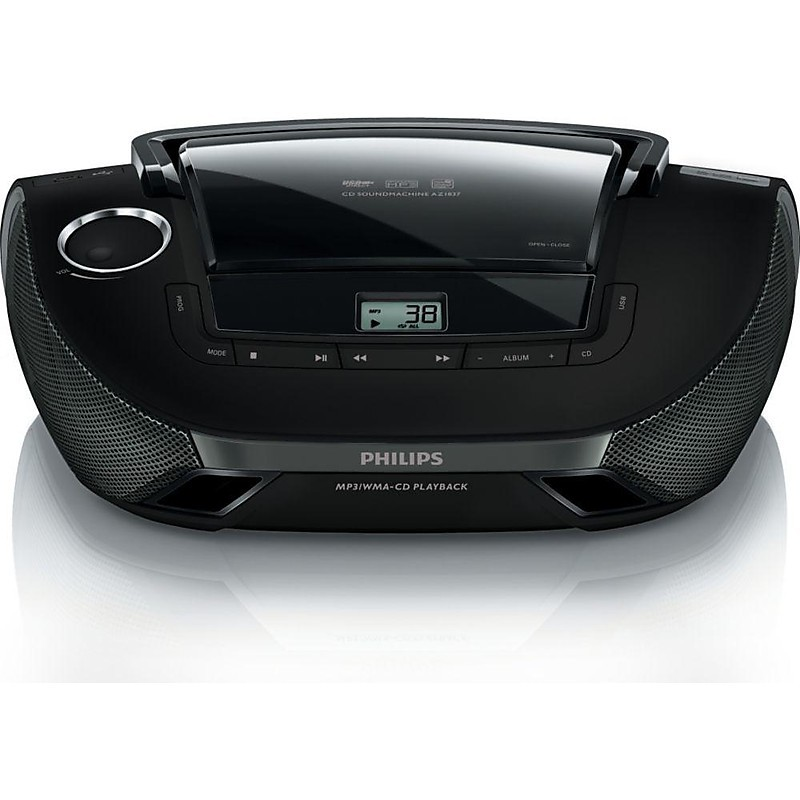 PHILIPS  AZ1837/12Stereo Portatile Lettore CD MP3 USB IN AUX