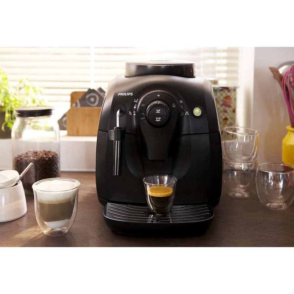 Philips HD8651/01 Series 2000 macchina da caffè automatica 1400 Watt 1 litro colore nero