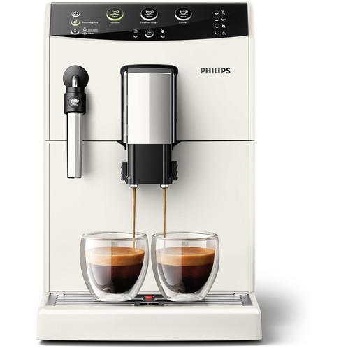 Philips HD8827/12 macchina da caffè super automatica con pannarello classico colore bianco