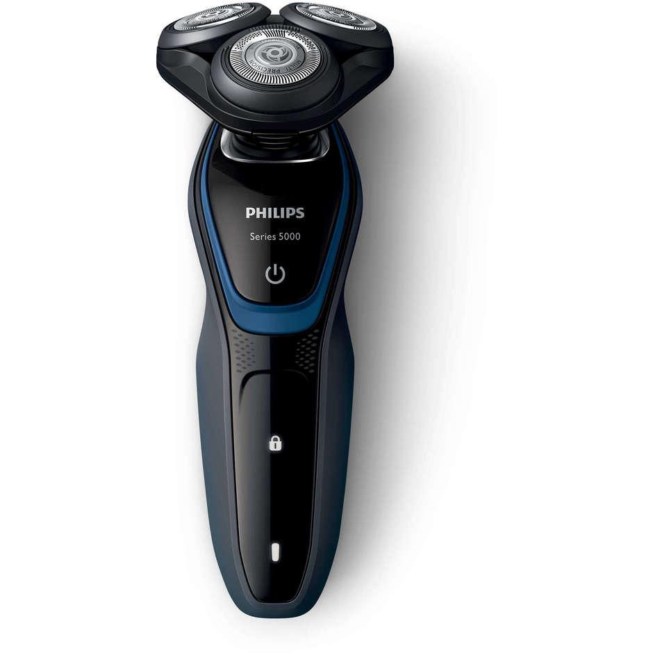 Philips S5100/06 Shaver rasoio elettrico per rasatura a secco blu, grigio, nero