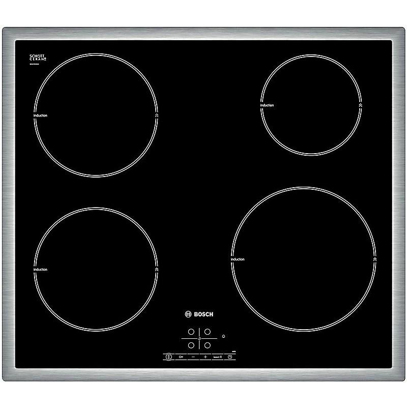 PIE645B18E Bosch piano cottura induzione 60 cm 4 piastre nero ...