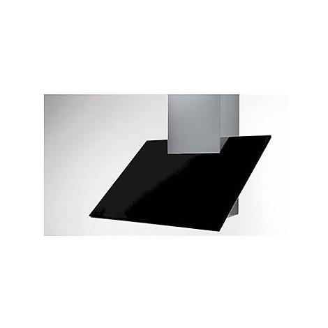 plane camino 90 cm ix vetro nero tecnowind cappa