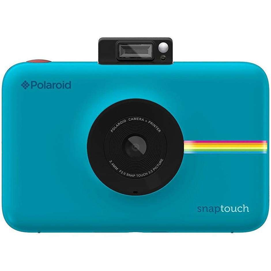 "Polaroid Snap Touch fotocamera digitale istantanea display 3,5"" Bluetooth colore blu"