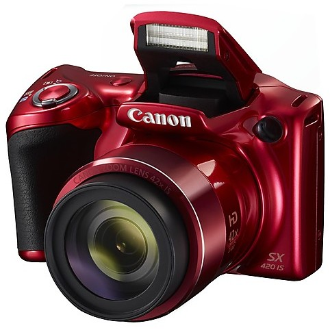 powershot sx420 is red