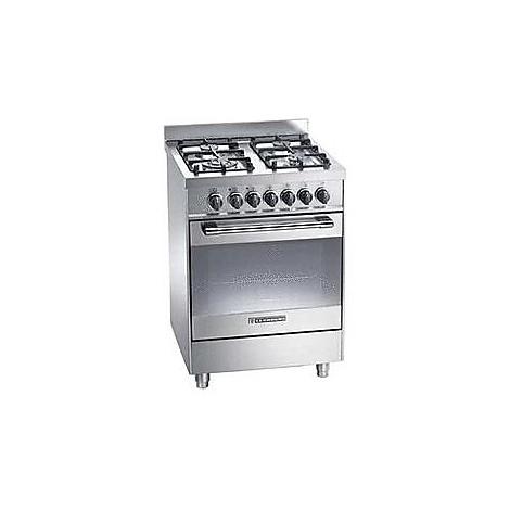 pt-667xs tecnogas cucina da 60 cm 4 fuochi a gas forno elettrico inox