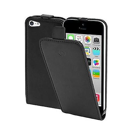 pu case iphone 5c black