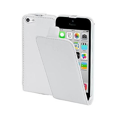 pu case iphone 5c white