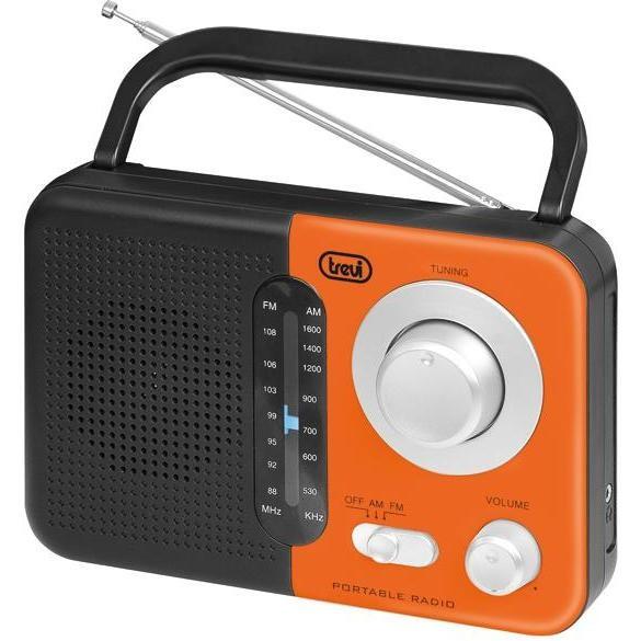 radio portatile arancio