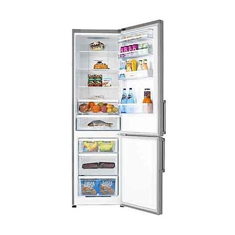 rb468n4bc2 hisense frigorifero 405lt classe a++ nofrost inox