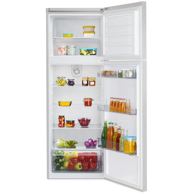 rdsa-310m20s beko frigorifero classe a+ 310 litri 60 cm statico silver