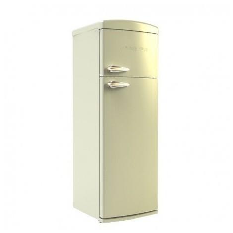 retro345b telefunken frigorifero doppia porta retro' beige ventilato a+
