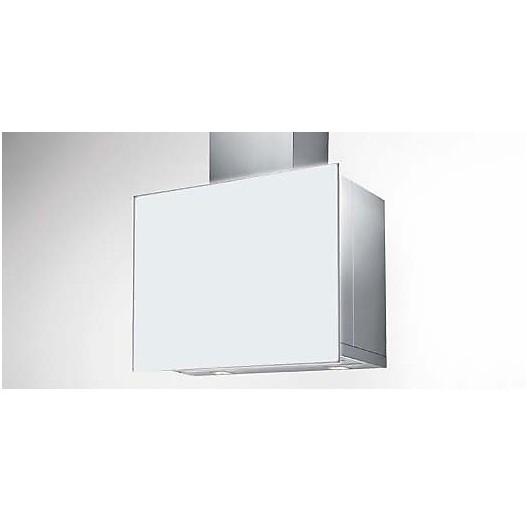 revolution 90 cm ix vetro bianco tecnowind cappa