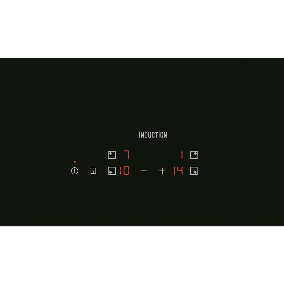Rex/Electrolux EHH6240IOK piano cottura a induzione 60 cm 4 zone cottura colore nero