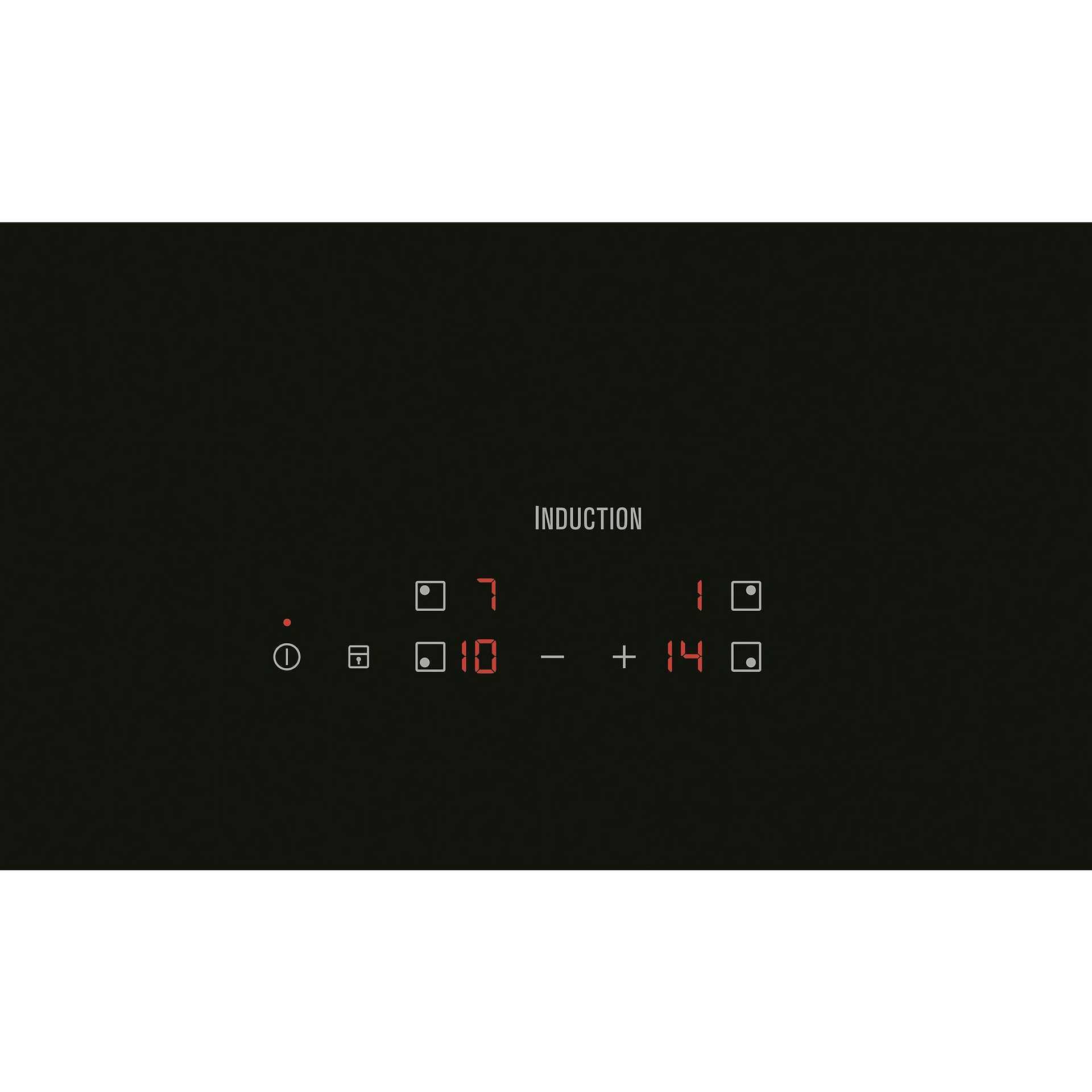 Rex/Electrolux EHH6240IOK piano cottura a induzione 60 cm 4 zone ...
