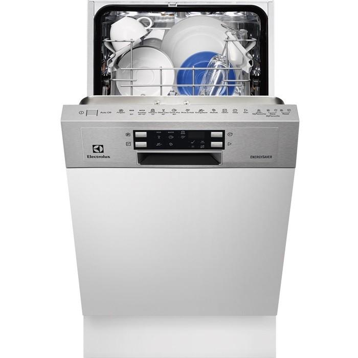 Rex electrolux esi4500lox lavastoviglie slimline da for Lavastoviglie 9 coperti