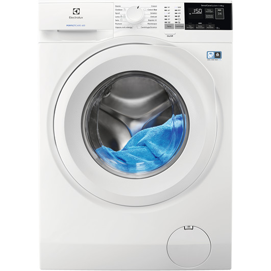 Rex/Electrolux EW6F482Y lavatrice carica frontale 8 Kg 1200 giri classe A+++ colore bianco
