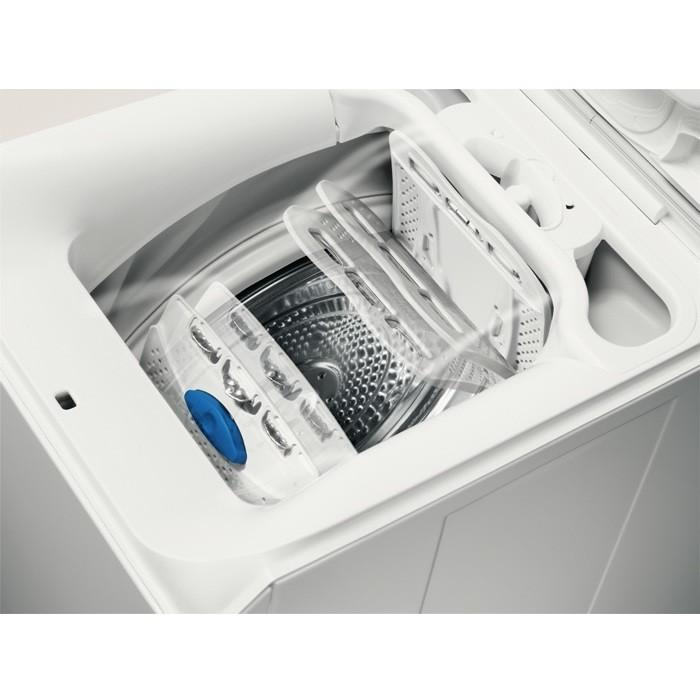 Rex/Electrolux EWT1278EVS lavatrice carica dall'alto 7 Kg 1200 giri classe A+++ colore bianco