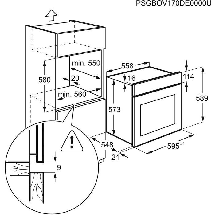 Rex/Electrolux FQ53X forno elettrico multifunzione da ...