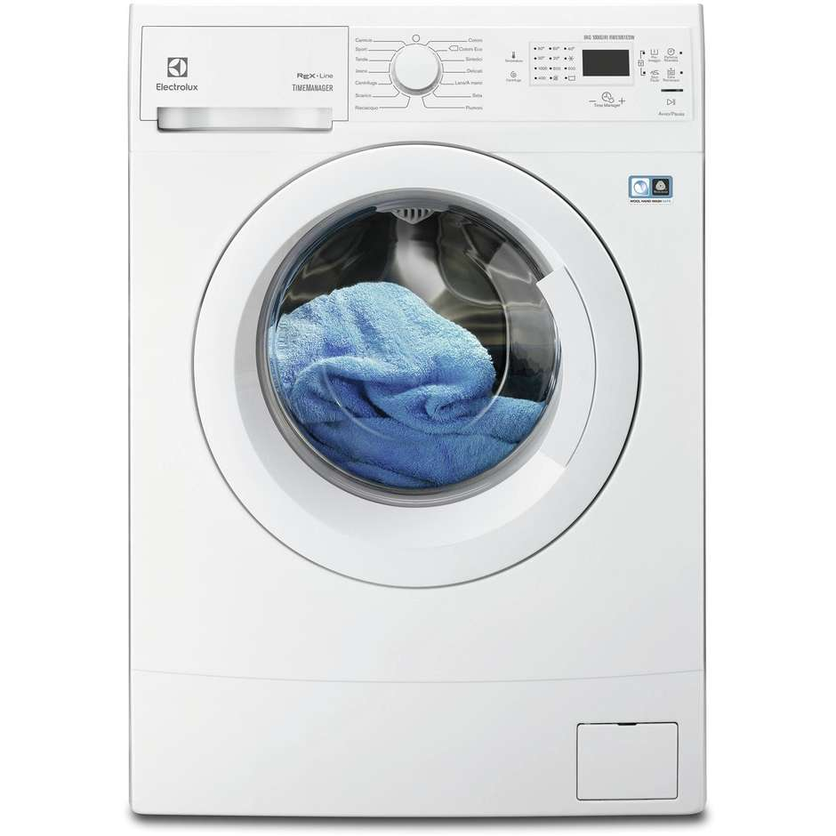 Rex/Electrolux RWS1061EDW lavatrice carica frontale 6 Kg 1000 giri classe A+++ colore bianco