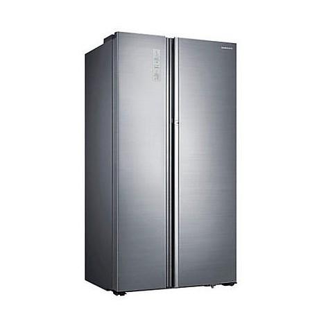 rh-60h8160sl samsung frigorifero side by side 609 lt inox classe a++ display