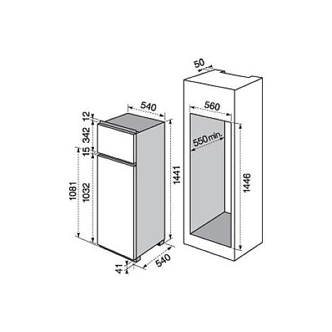 rjn-2301aow electrolux frigorifero doppiaporta classe a+ 230 litri doppiaporta