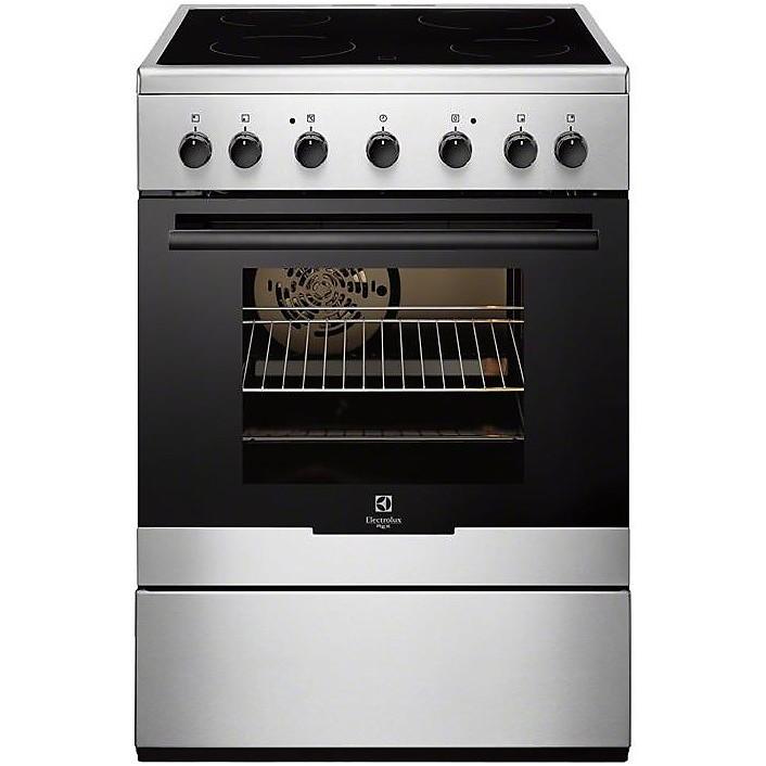 Rkc 60300ox rex cucina 60x60 vetroceramica con forno - Cucina con piastre e forno elettrico ...