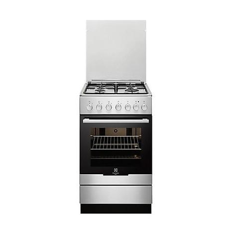 rkk-21100ox rex cucina 50x50 4 fuochi a gas inox c - cucine 4 ... - Rex Cucine