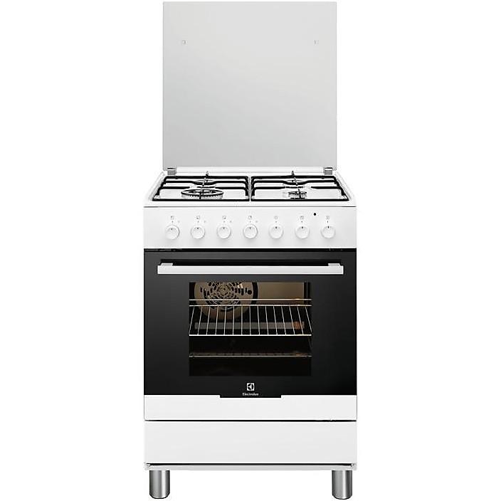 rkk 61300ow rex cucina 60x60 4 fuochi a gas bianca