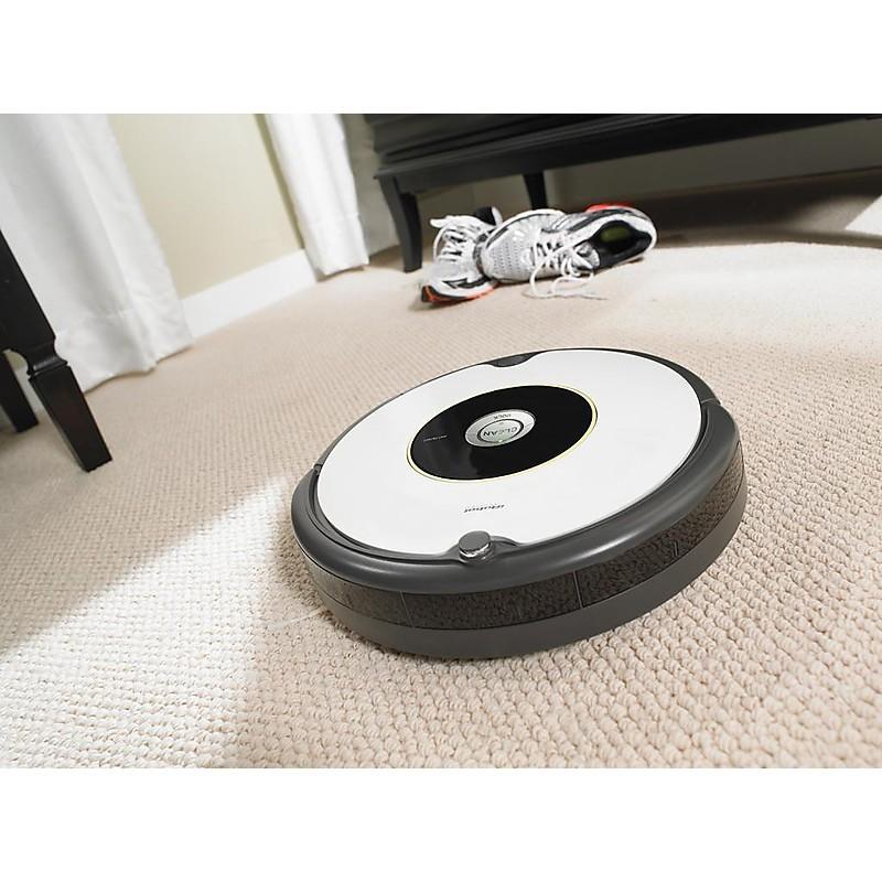 roomba 605 robot aspirapolvere one touch and go sensori sporco
