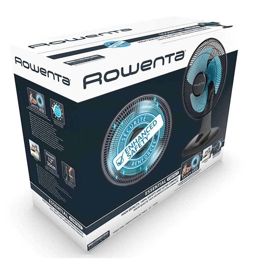 Rowenta VU2120 Essential Compact ventilatore da tavolo diametro 30 cm 3 velocità