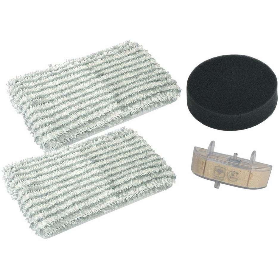 Rowenta ZR0058 Kit con 2 panni microfibra, 1 filtro schiuma e 1 cartuccia anticalcare