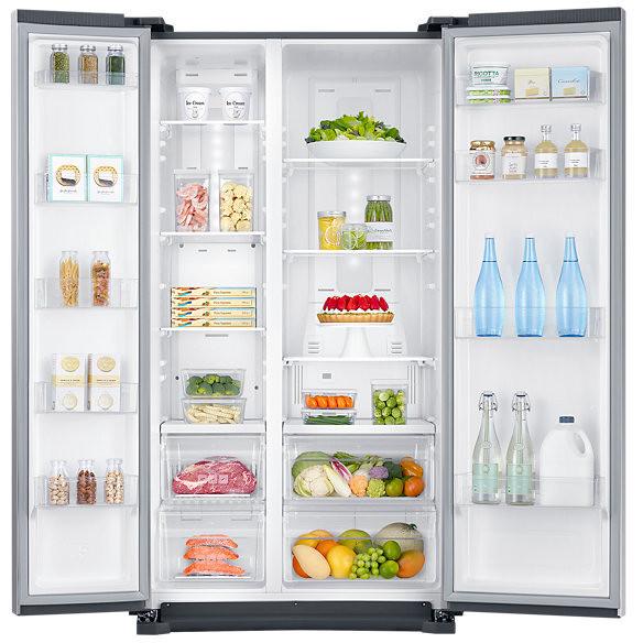 RS57K4000SA Samsung frigorifero side by side 570 litri classe A+ ...