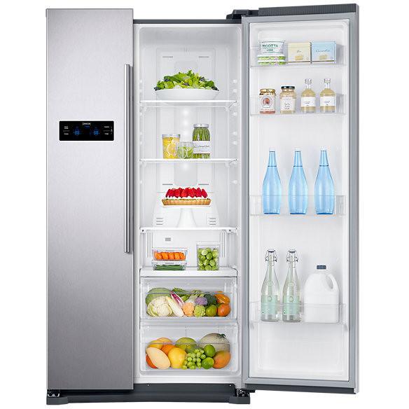 RS57K4000SA Samsung frigorifero side by side 570lt classe a+ silver