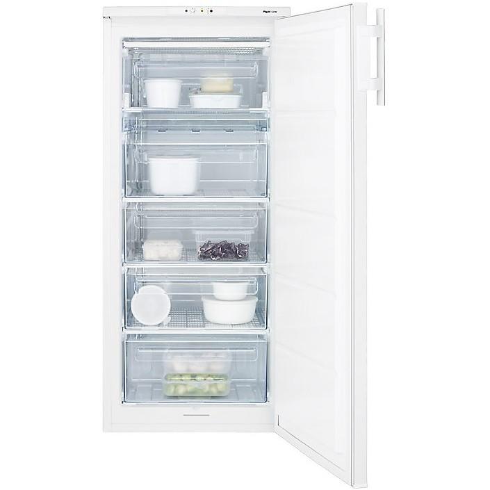 ruf-1900aow electrolux congelatore verticale classe a+ 190 litri 55 cm statico bianco