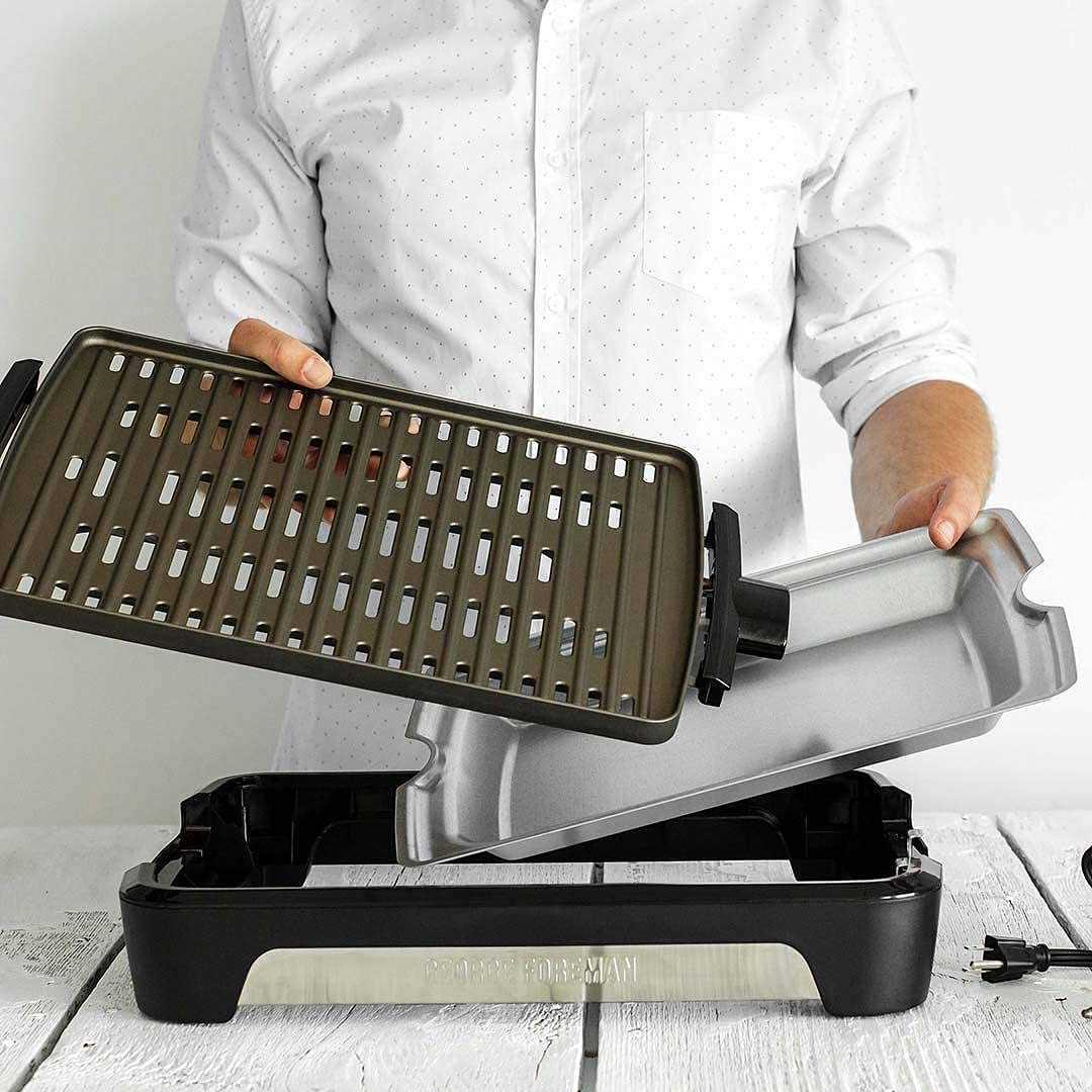Russell Hobbs 25850-56 Smoke Less Grill barbecue potenza massima 1600 Watt